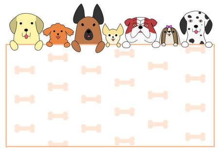かわいい犬カード
