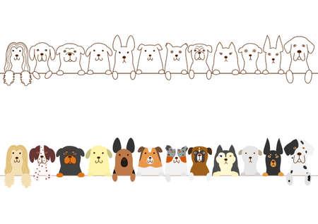 honden grens