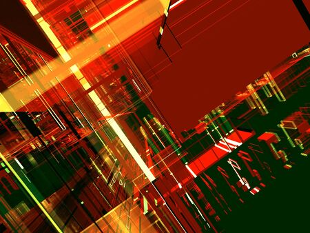 abstract color luminous future background Stock Photo - 3543560