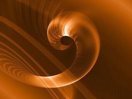Resumen de fuego de fondo blanco con líneas en espiral Foto de archivo - 3543487