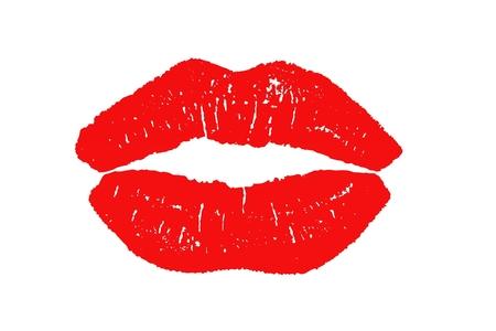 lips imprint