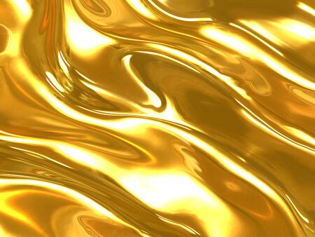 smoothness: Gold background Stock Photo