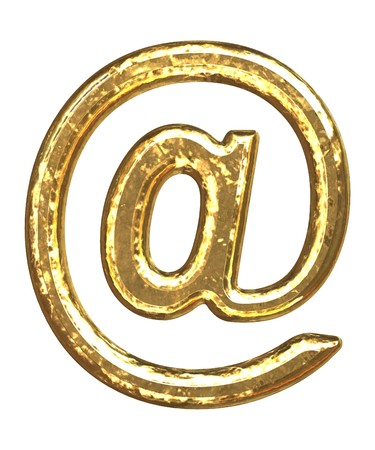Gold symbol as bars.Letter as grainy bar of gold   photo