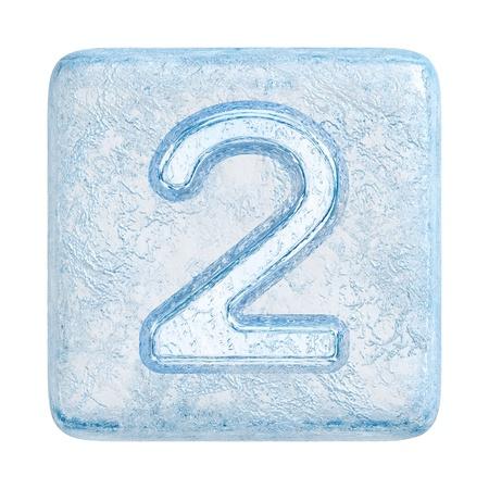 Cubitos de hielo de fuente. Número 2 Foto de archivo - 11413320
