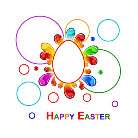 Colorful Easter background Vector