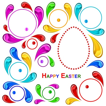 Happy Easter pattern  Happy Easter  Vector