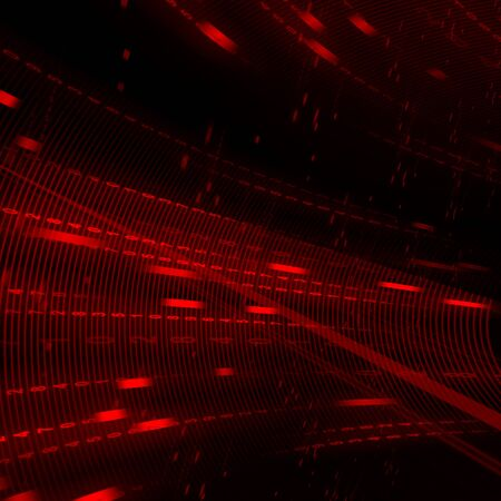 multilayer: Abstract red matrix background Stock Photo