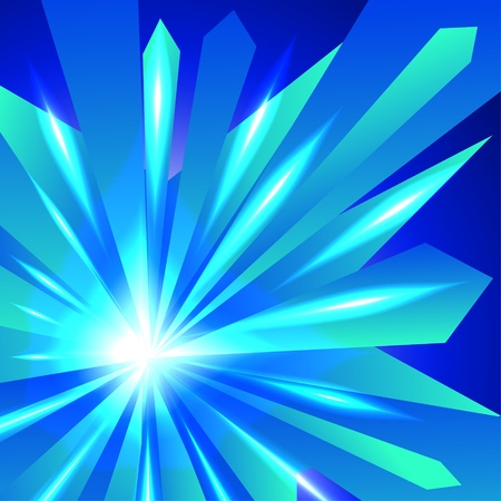 phosphorescence: Abstract crystal shiny background
