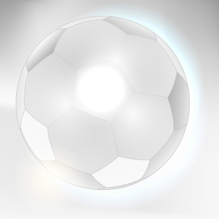Abstract gray soccer ball background Vector