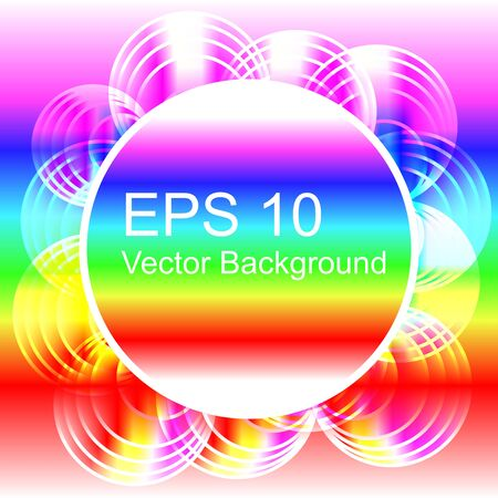 Abstract Rainbow Background Stock Vector - 15122583