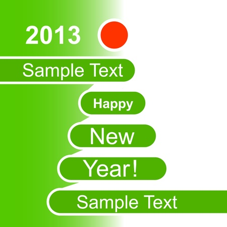 Happy New Year 2013 background Stock Vector - 15122581