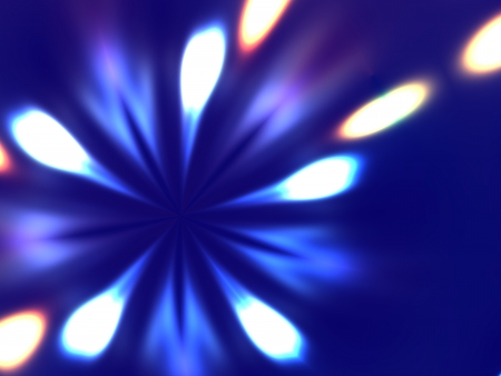 aureole: Beautiful abstract light background