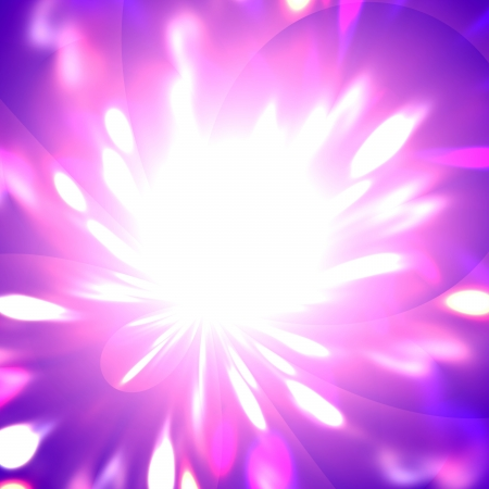 aureole: Abstract background of a flower of light