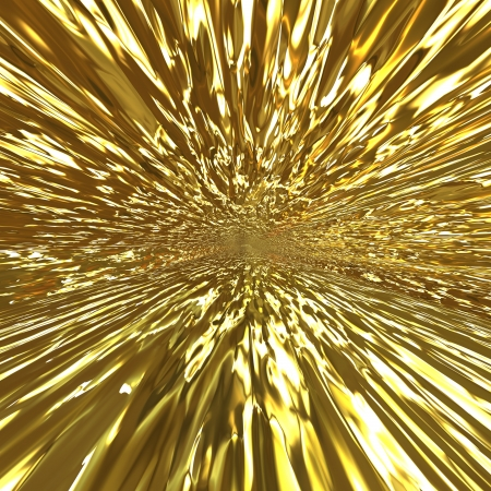 liquid material: Abstract golden background