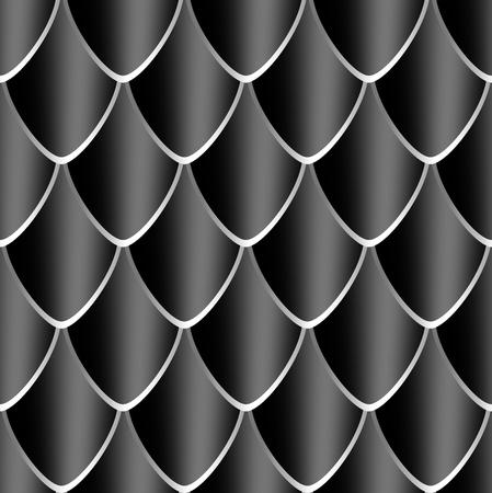 reptile skin: Black Dragon skin texture  Ready for tile