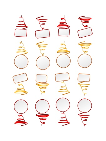 Collection of festive frames Stock Vector - 18012246