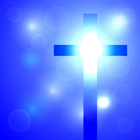 sacramental: Cross shines a beautiful light