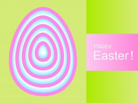 復活祭の卵のデザインとハッピー イースターの背景