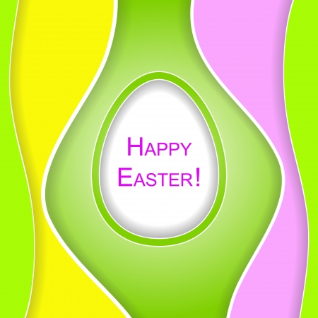 lustre: Happy Easter background with smooth forms