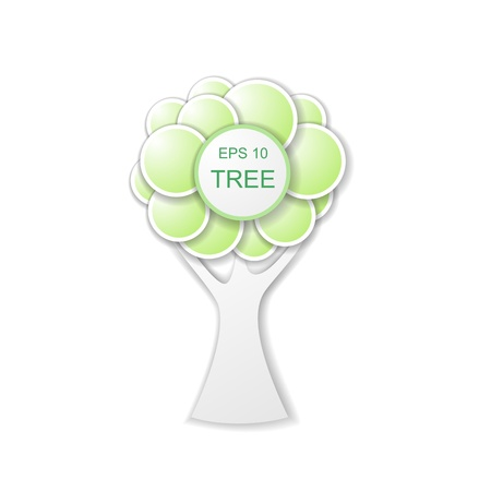 baobab: Illustration of the tree of circles