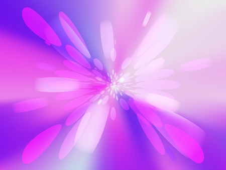 concentric circles: Beautiful abstract pink light background