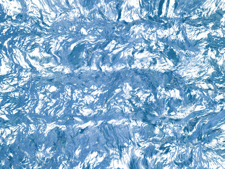 Beautiful blue textured abstract background of ice  Stock Photo