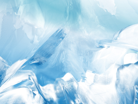 glacial: Beautiful blue abstract ice background