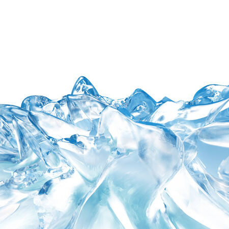 ice surface: Beautiful blue textured abstract background of ice