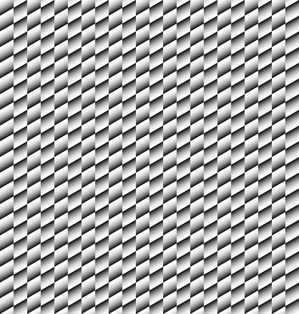 white tile: Abstract geometric black and white tile texture. Illustration