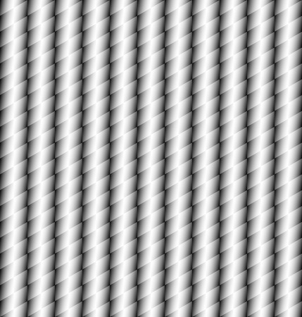 hauberk: Abstract geometric black and white tile texture. Illustration