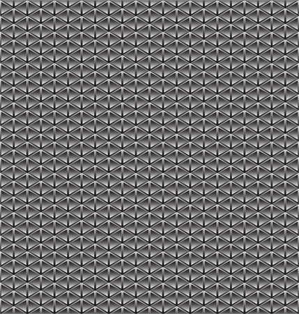 squamous: Abstract geometric black and white tile texture. Illustration