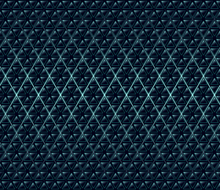 Abstract dark blue geometric  tile texture.