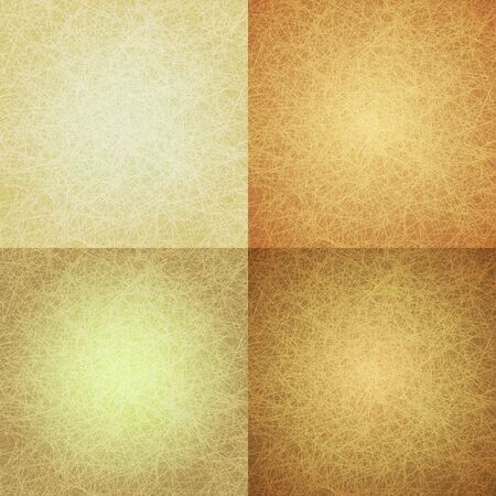 profundidad: Amarillo abstracto rayado de fondo con una profundidad de color diferente. Vectores