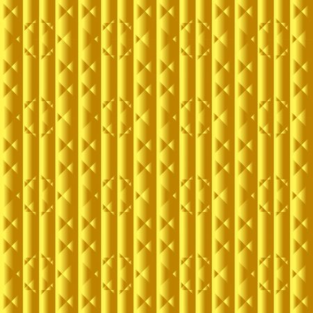 Abstract seamless background gold color. Texture for card design. Illustration