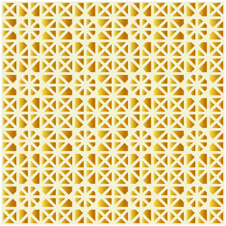 Vector abstract golden polygonal mosaic background. Pattern of geometric shapes. Vector