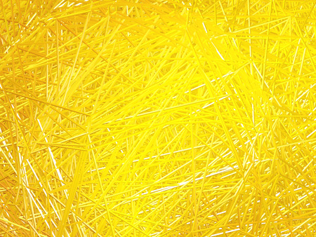 crossing tangle: Abstract golden background of intersecting lines. Golden. Yellow. Stock Photo