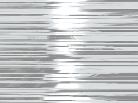 silver background: Metal background with parallel lines with reflected light.