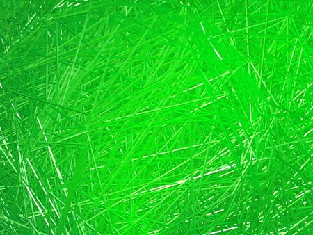 Abstract golden background of intersecting lines. Green. Stock Photo