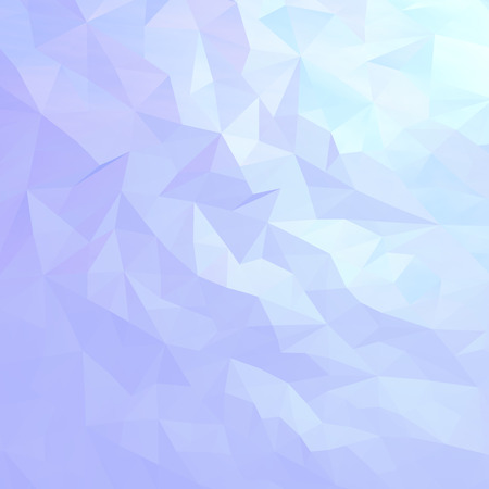 Abstract triangles  background of purple and blue.
