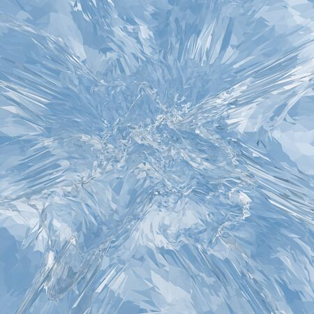 shiver: Beautiful blue textured abstract background of ice. Stock Photo
