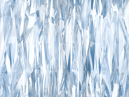 ice surface: Beautiful blue textured abstract background of ice. Stock Photo