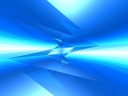 crystal background: Abstract futuristic crystal blue background. Stock Photo