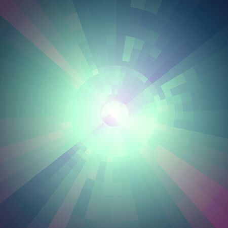 tecnology: Virtual tecnology vector background. Abstract  turquoise futuristic  tunnel  background. Hi-tech design.