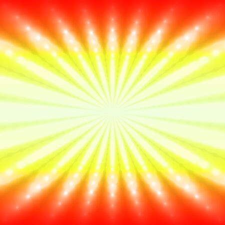 fiery: Abstract radiant fiery background with light ray Illustration