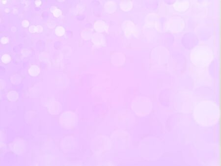 Beautiful romantic background. Defocused bokeh lights in a light shade. Backdrop for happy holiday mood. Tender passion, sentiment texture for festive cover, banner, leaflet. Vector illustration Illustration