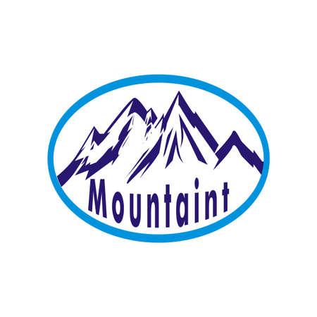 ridge: Mountain, nature background, eps 10 (peak) Illustration