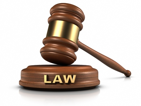 judgement: Gavel and Sound Block