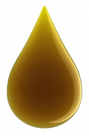 Drop of Oil. Stock Photo - 9548345