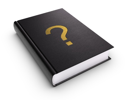 Question Book. Stock Photo - 9548348