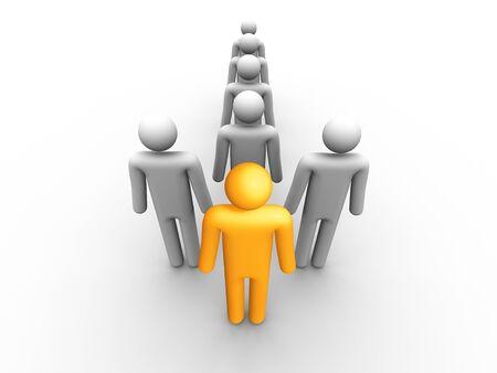 organized group: Leadership